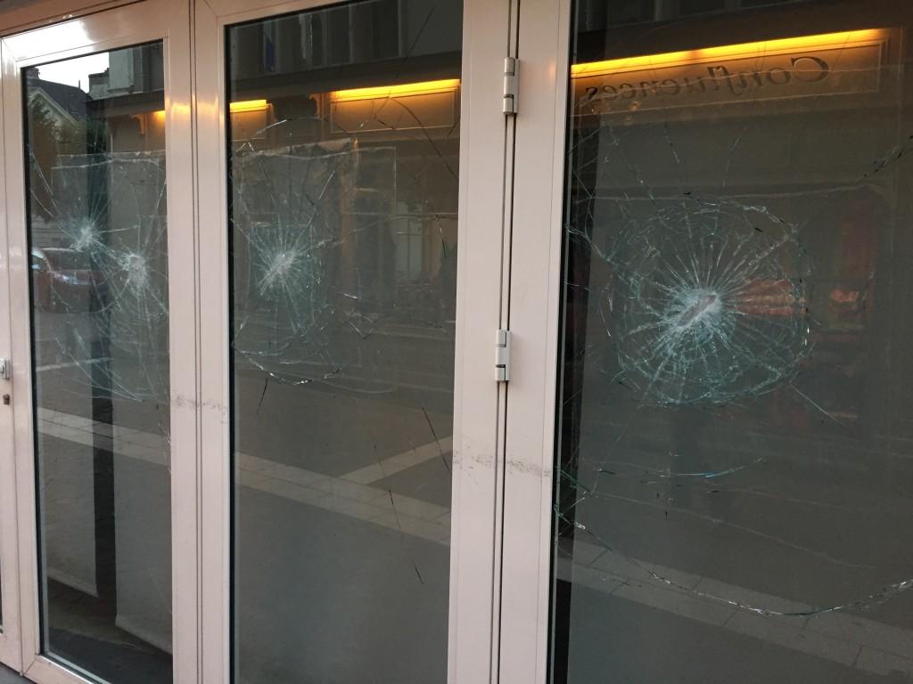 Safety Film Shop Window Devon Window Tinting